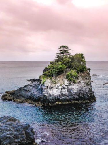 le rocher symbole du but à atteindre