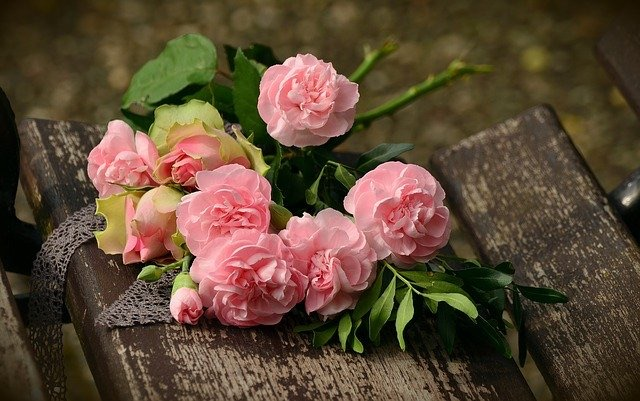 la rose, alliée au réséda dans le poème d'Aragon